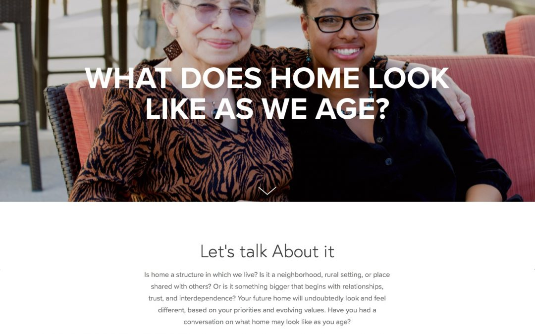 A Website for the Ages: Calling Home
