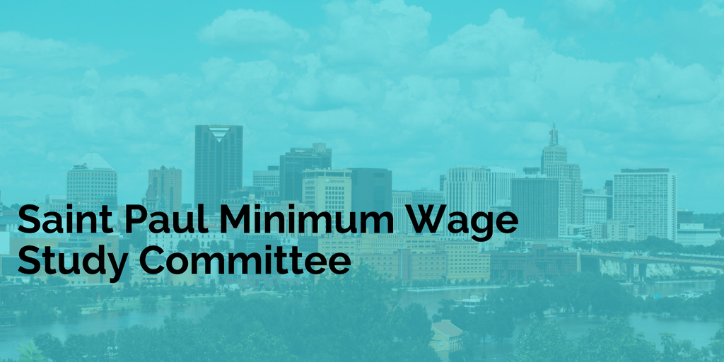 Minimum Wage Study Committee Begins Work