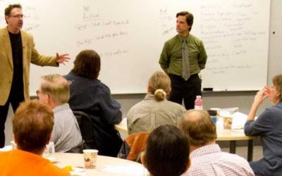 Introducing Evolve,  an intergenerational civic leadership training program